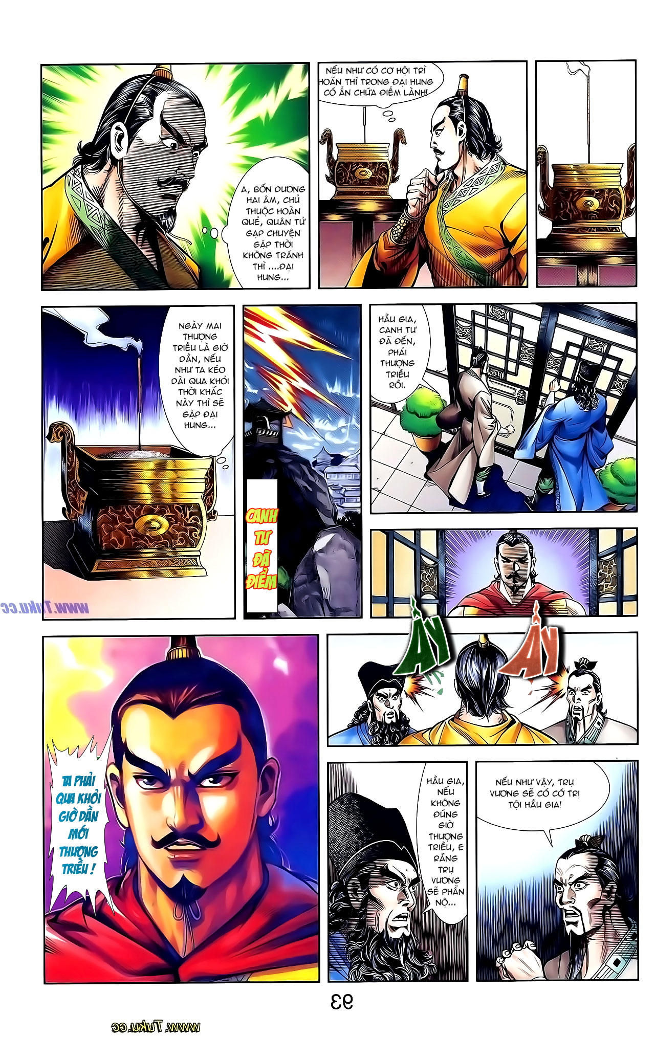 Cơ Phát Khai Chu Bản chapter 132 trang 8