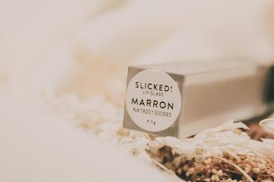 Rollover Reaction Slicked Lip Glass marron 2020