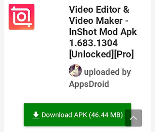 download inshot no watermark apk file
