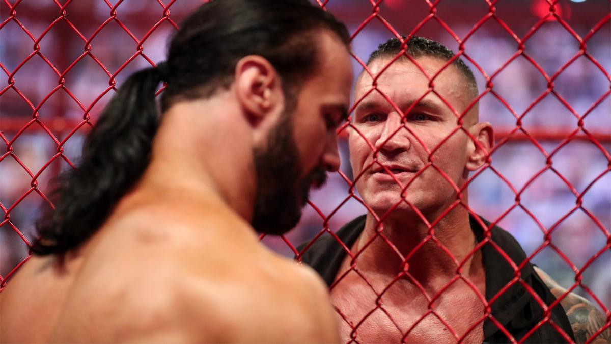 Drew McIntyre and Randy Orton on WWE RAW