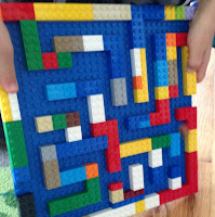 Lego Marble Maze @ whatilivefor.net