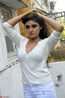 Sony Charishta in White Top and Denim jeans ~  Exclusive Galleries 003.jpg