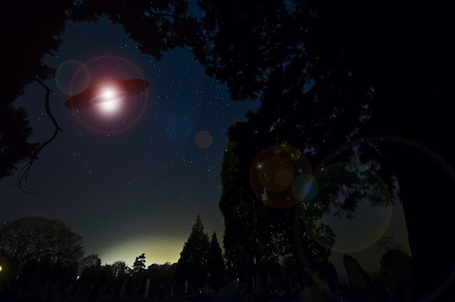 UFO and Bermuda triangle