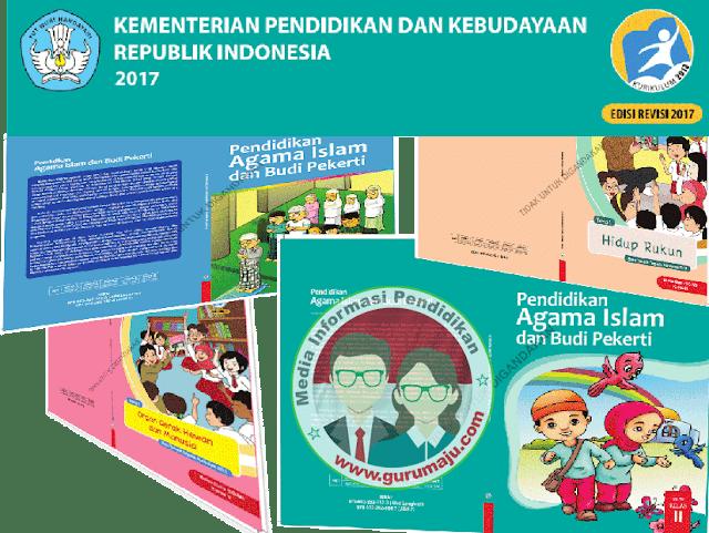 Buku Pendidikan Agama kelas 5 SD Kurikulum 2013 Revisi 2017