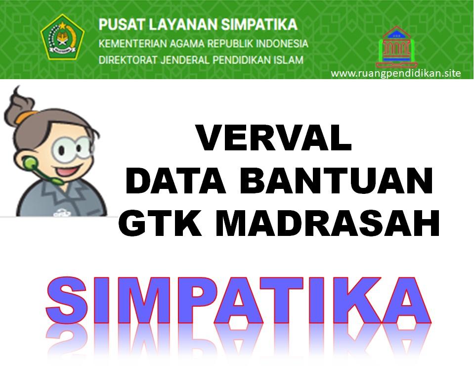 Verval Perubahan Data Bantuan