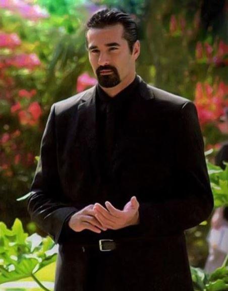 o personagem Zein na novela O clone