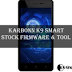 Download Karbonn Titanium K9 Smart Stock Firmware ROM (Flash File) V020
