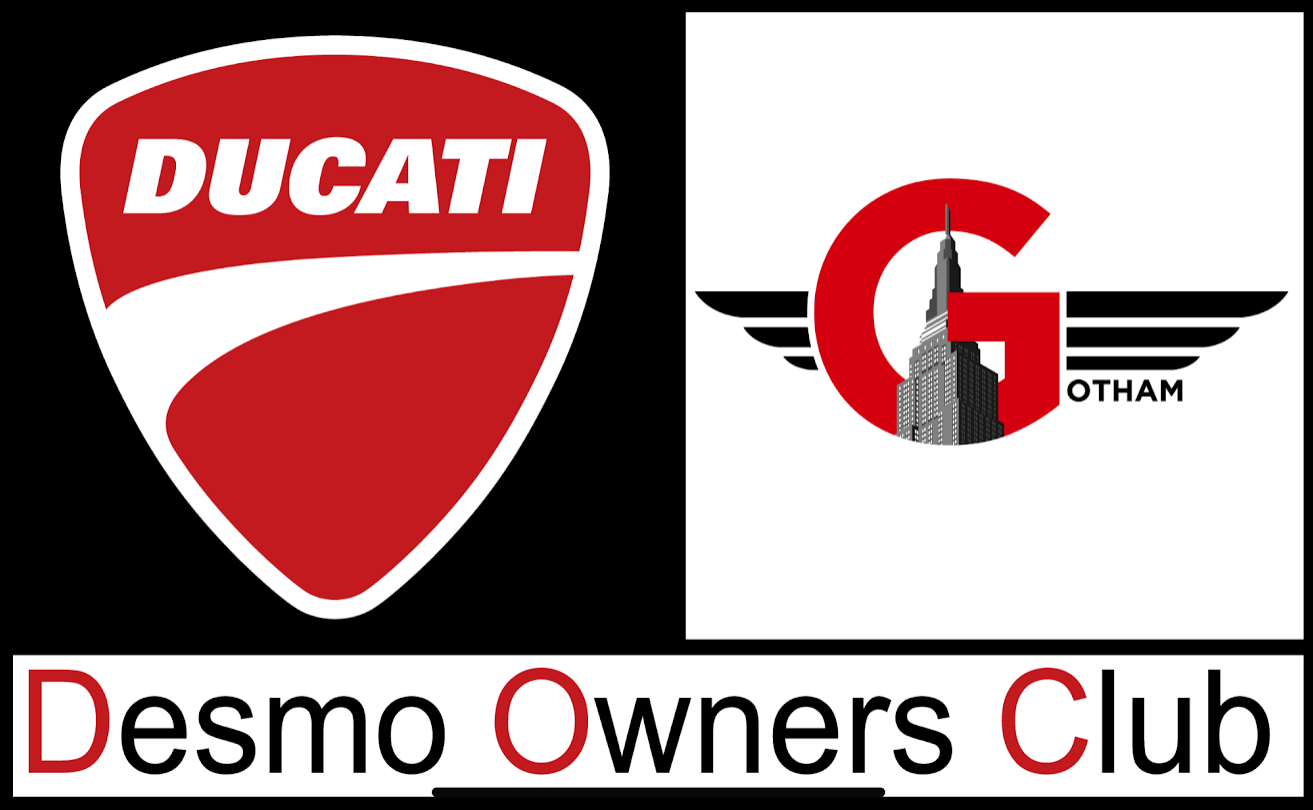 Gotham Ducati Desmo Owners Club New York City