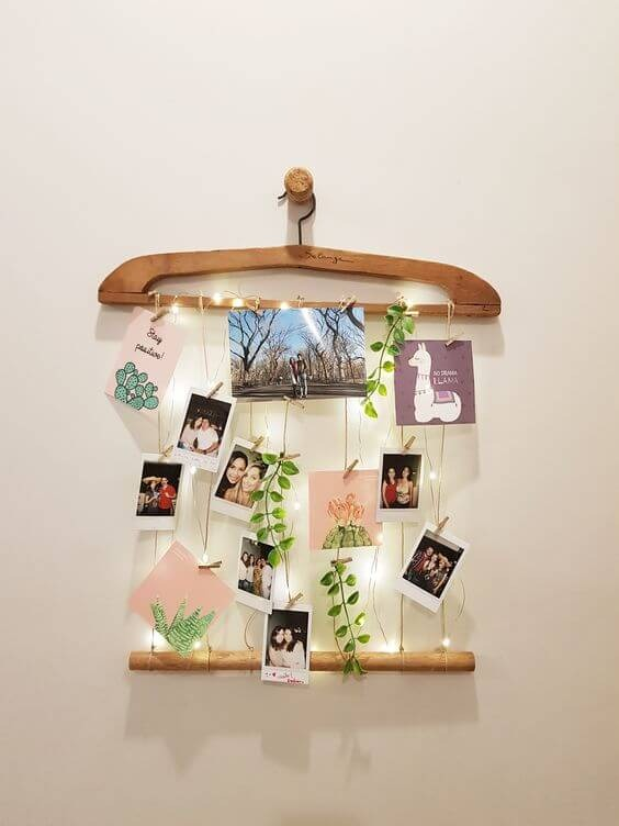 Easy crafts with old hanger