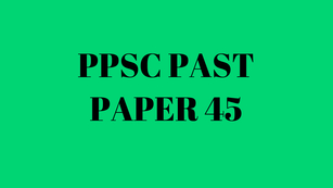 ppsc past papers of lecturer of history