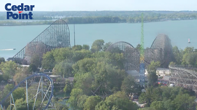 Steel Vengeance Update! Track-work complete!