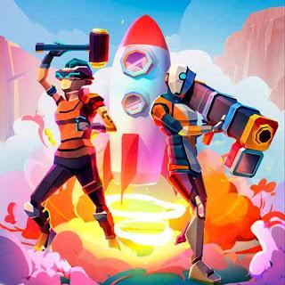 Game Rocket Royale MOD Apk Free, Hacking Unlimited Money