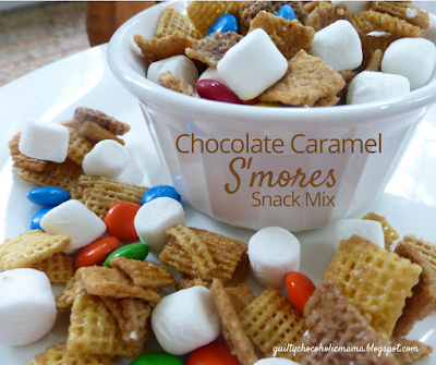 Chocolate Caramel S'mores Snack Mix