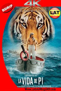 La Vida De Pi: Una Aventura Extraordinaria (2012) Latino Ultra HD BDRIP 4K 2160p - 2012