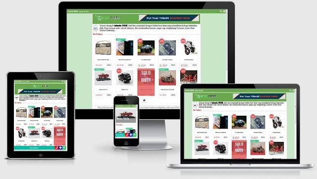 tukutoko THEME super responsive template toko online blogspot