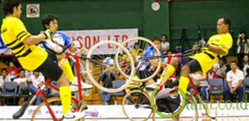 Cycle Soccer (Sepeda Bola)