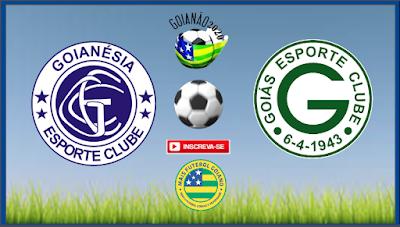 Já classificado, Goiás terá time reserva contra o Goianésia na próxima quinta feira (28)