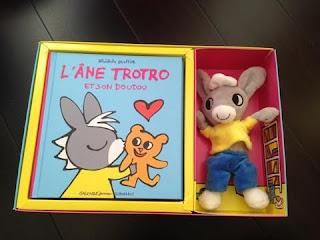 L'âne Trotro et son doudou - Coffret - Editions GALLIMARD JEUNESSE