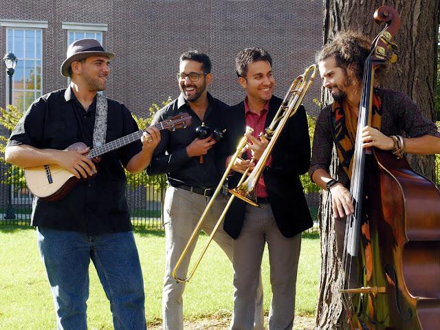 ARTISTA: La música de Venezuela vuela en las notas de un notable trombonista griego.
