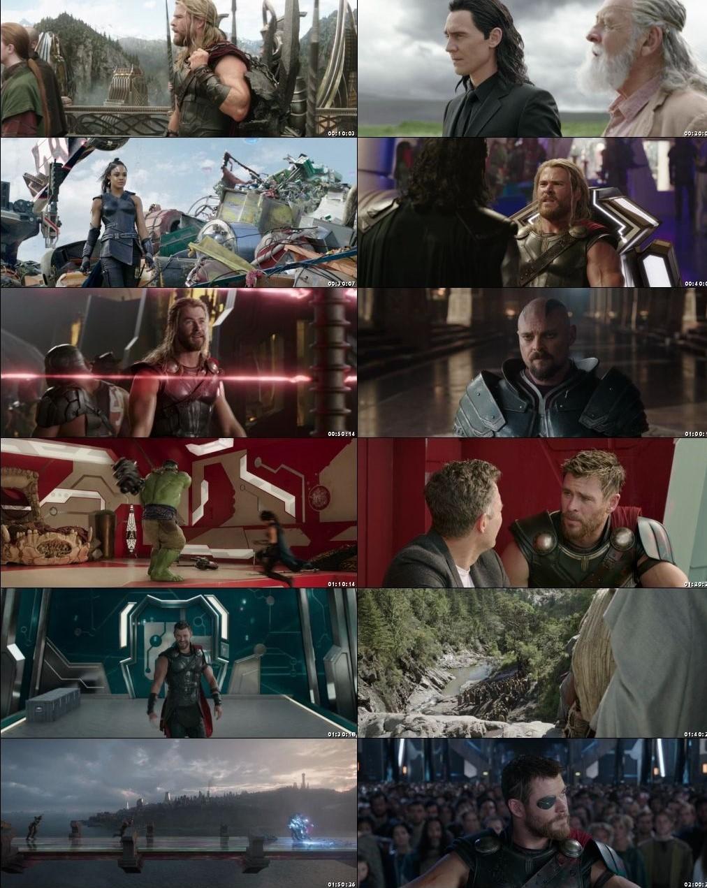 Thor: Ragnarok 2017 BRRip 720p Dual Audio In Hindi English