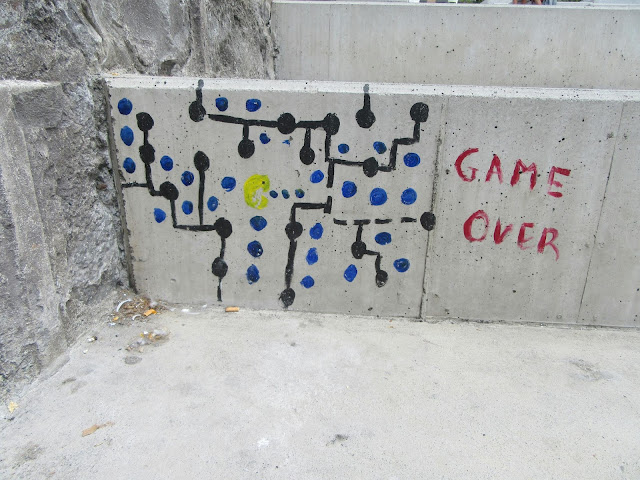 game over in Praça do Povo