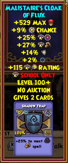 Wizard101 Corporal Tenni'syn Drops - Level 125+ Best Gear