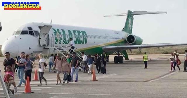 Avión cargado de pasajeros perdió todo su combustible en medio de la pista de Maiquetía