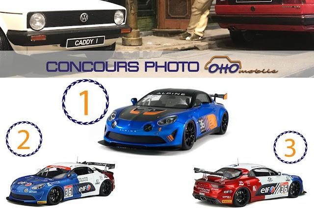 Des Alpine A110 GT4 1/18 OttOmobile à gagner à l'occasion du