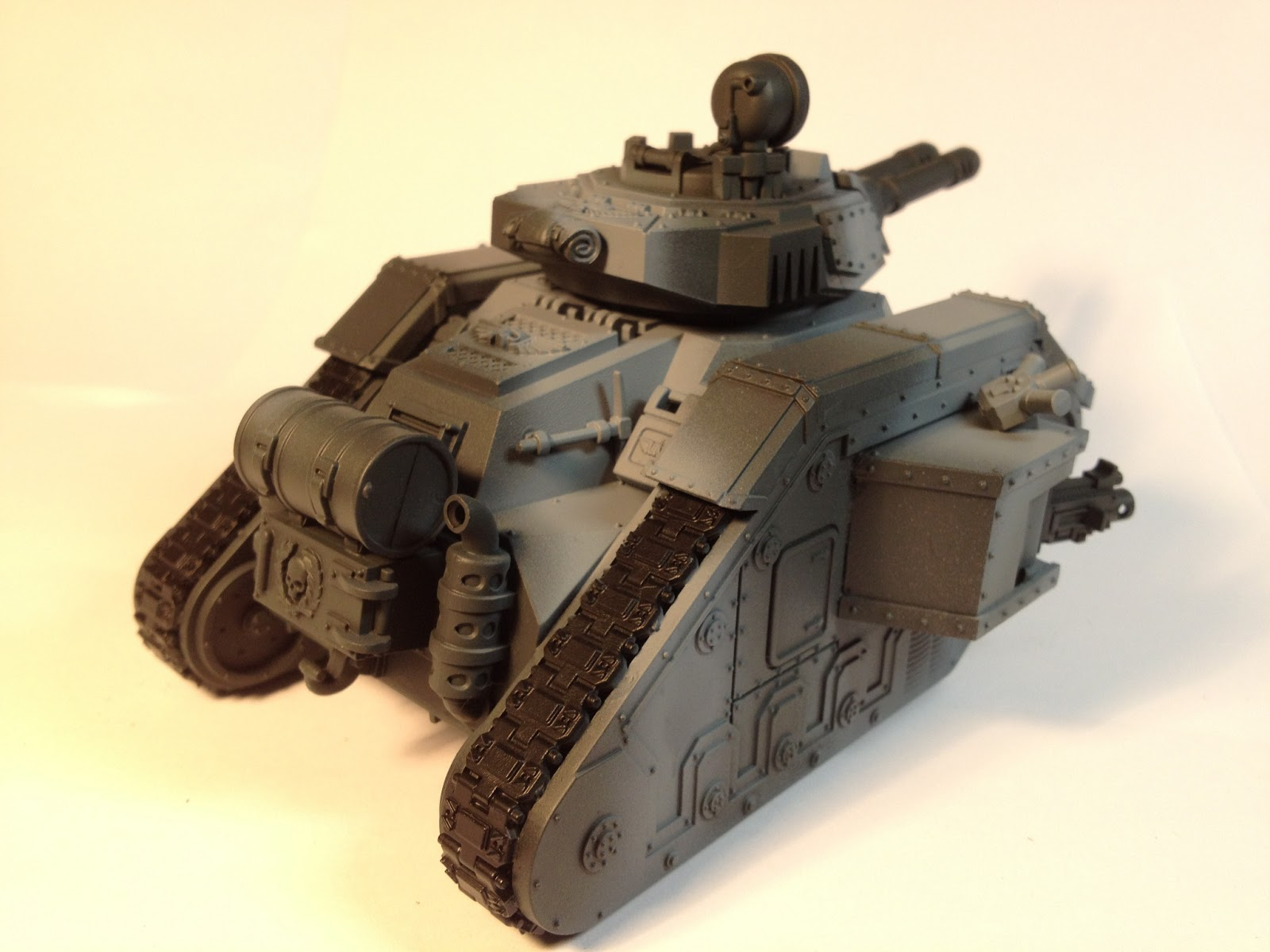 Death Korps of Krieg Leman Russ WIP Right Side