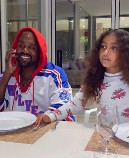 North West made daddy Kanye West smile out of pride!