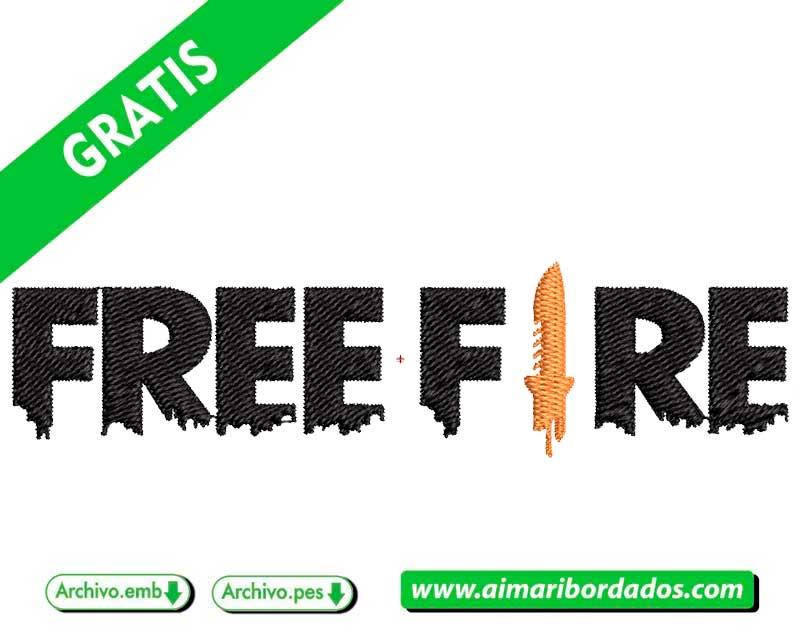 Logo Free Fire garena para bordar Descargar Gratis