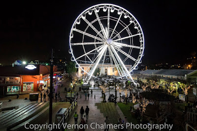 Canon EF-S 10-18mm IS STM Ultra-Wide Zoom Lens - V&A Waterfront / Cape Town at Night