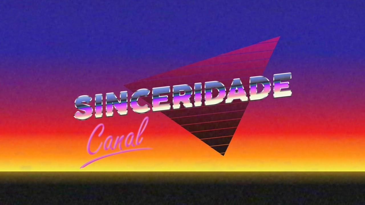 canal sinceridade escrito dentro de um triangulo