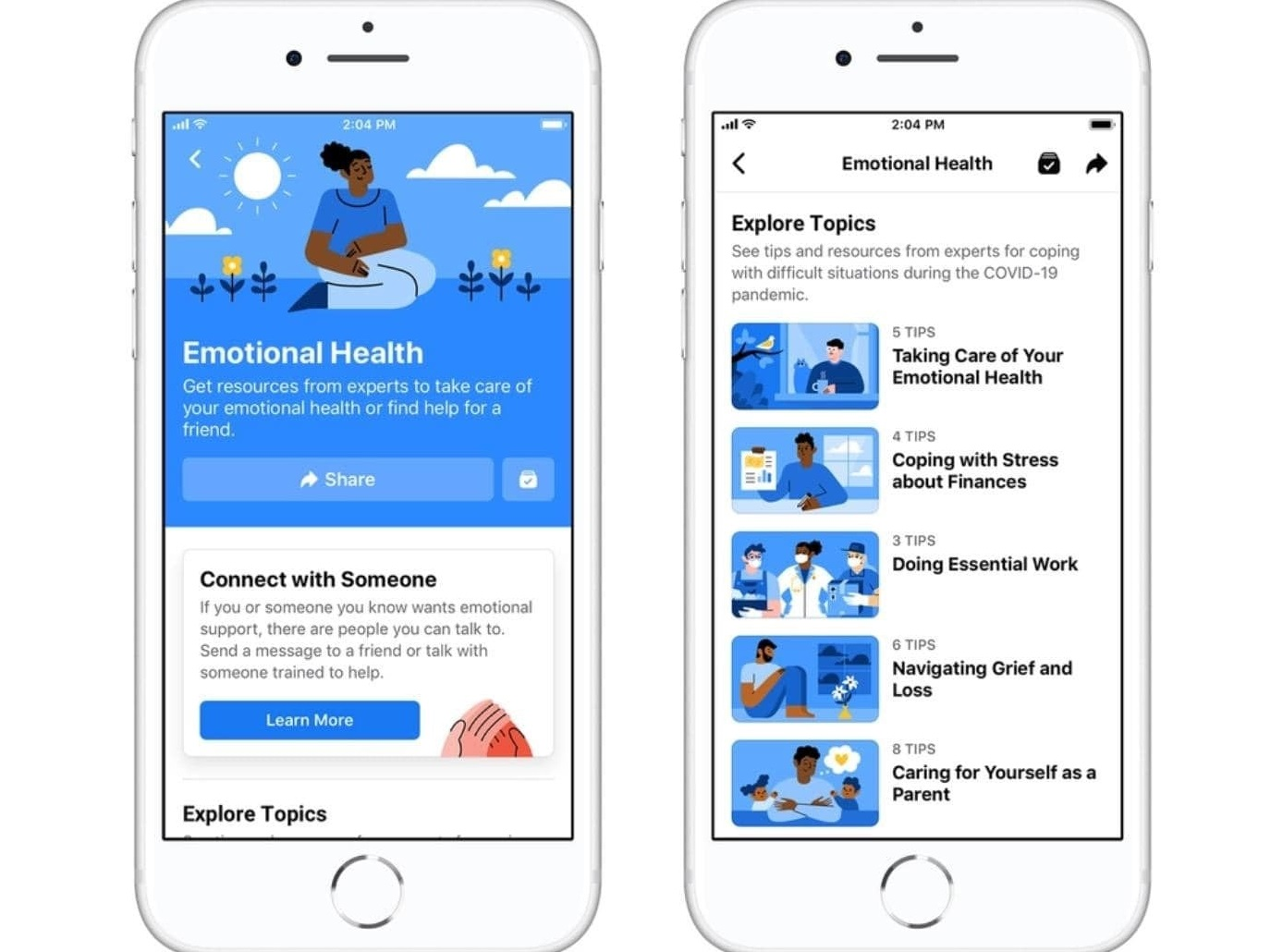To mark the Mental Health Awareness Month, Facebook has rolled out new Emotional Health Resources on its platform
