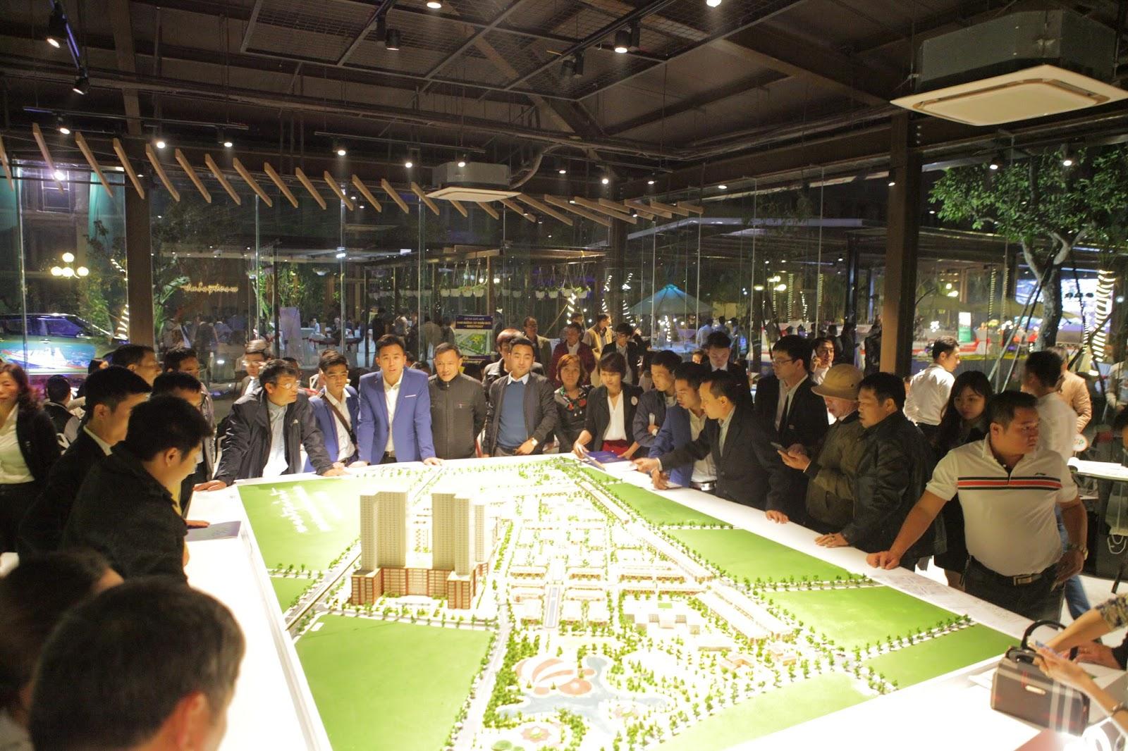 Buổi lễ giới thiệu dự án Nam 32 - Đông đảo khách hàng tham dự đều đánh giá tốt về thị trường Phía tây HN