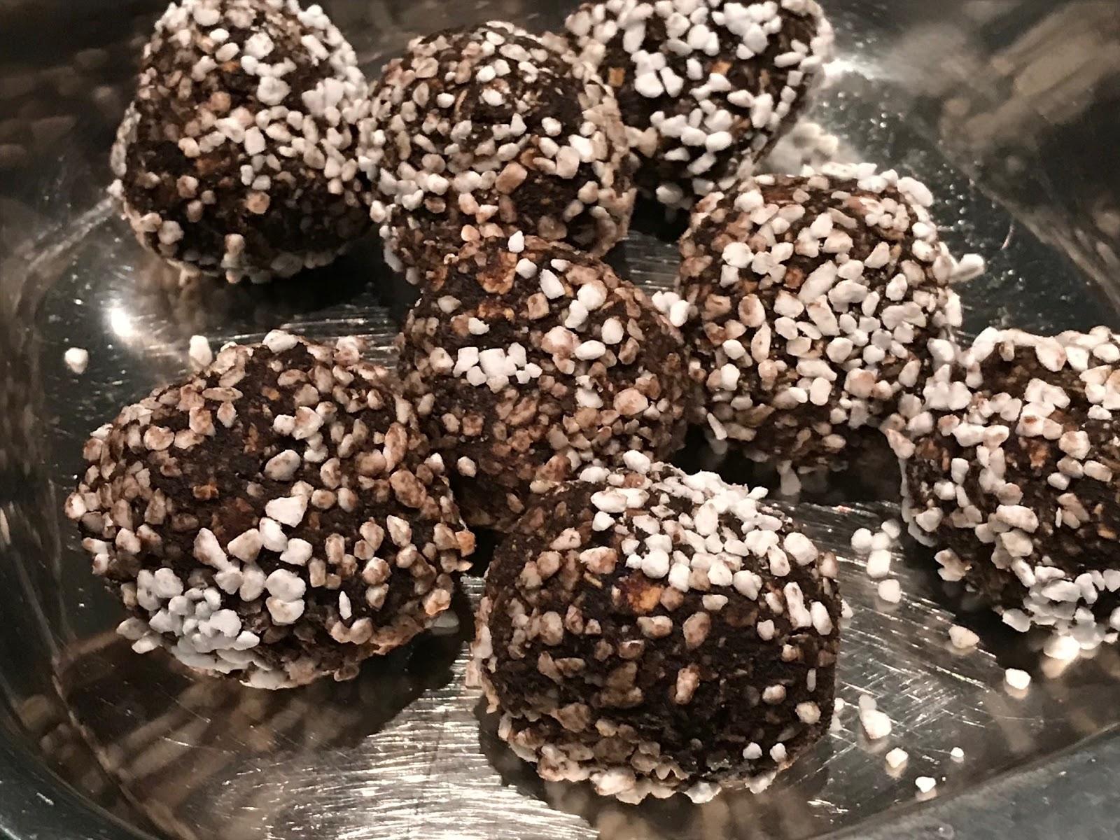 Dying For Chocolate Swedish Chocolate Balls Chokladbollar