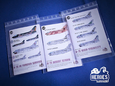 New Decal Sheets from Heroes Models