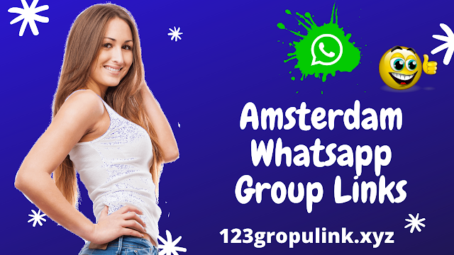 Join 900+ Amsterdam Whatsapp group link