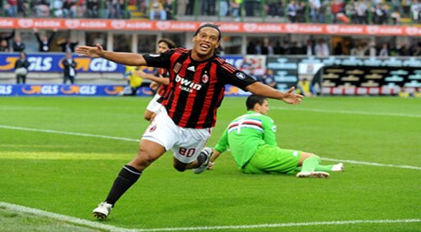 Ronaldinho – Net worth €83 Million ($90.5 million)