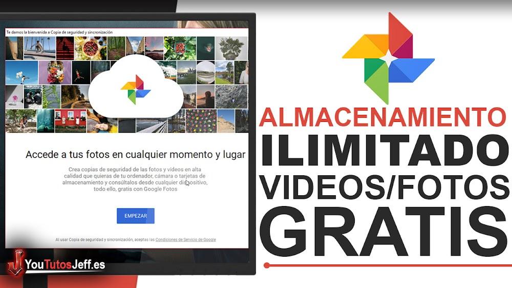 Descargar Google Fotos para PC - Guarda Vídeos y Fotos sin Limites de Espacio