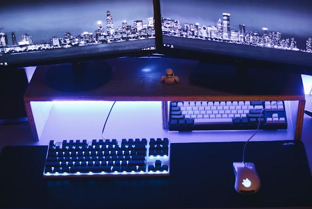 battlestation, pc, gaming pc, gaming setup