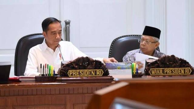 Maruf Amin Hampir Dilupakan Jokowi Saat Acara Pemeriksaan Pengelolaan Keuangan Negara