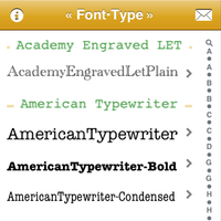 iLessons iLearned: New Fonts in iOS 5 0 - and Some Missing