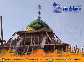 jual kubah masjid enamel stainless subang