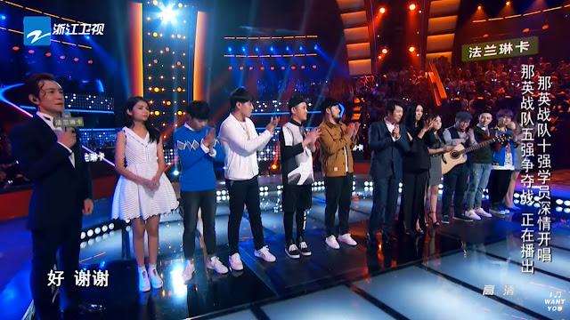 中國新歌聲 SING CHINA, Top 5 of Na Ying Team (Ep 9) - Amie
