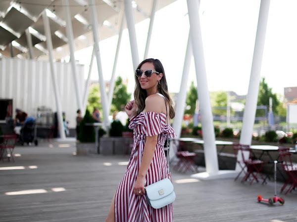 Summer in Stripes & Pops of Color