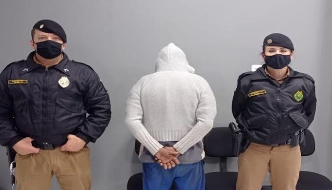 Polícia Militar prende bandidos que cometeram vários furtos em Laranjeiras, Virmond e Cantagalo