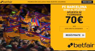 betfair supercuota Barcelona v Atletico 9-1-2020