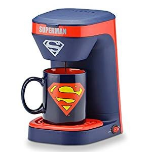 Click here to purchase Superman One Cup Coffee Maker at Amazon!