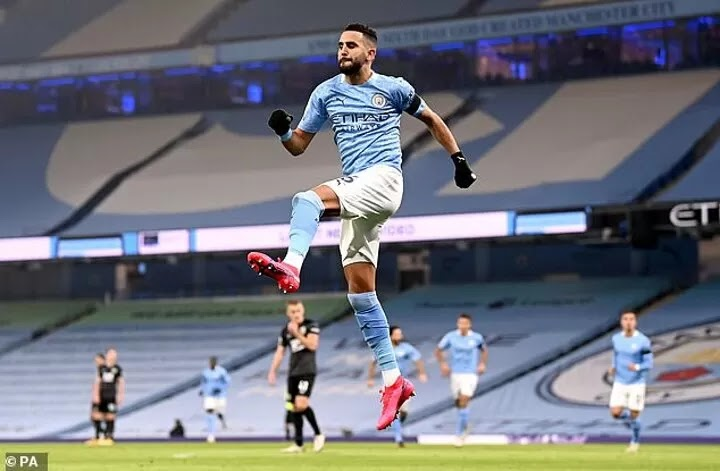 Riyad Mahrez states he 'wants to end his career at Manchester City'